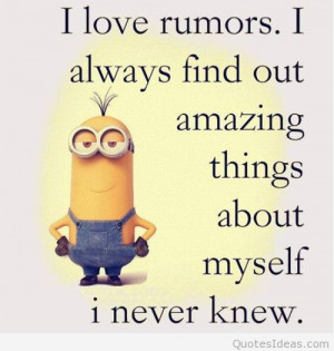 Funny minions quotes cartoons with minions sayings images