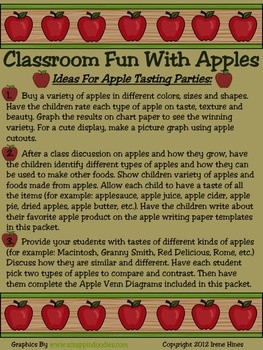 BEST SELLER...TOP 100 ON TpT! Johnny Appleseed & Apple Unit: 65 pages ...