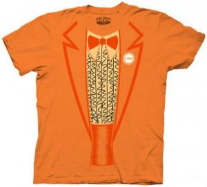 Dumber Lloyd Orange Tux Shirt Dumb And Blue Tuxedo