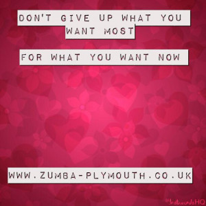 Motivational Quote of the Day From Zumba Plymouth