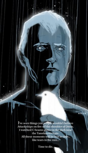 Roy Batty, leader of Nexus-6 replicants who escaped from off-world ...
