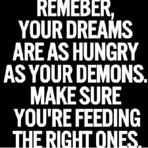 Feed the right one
