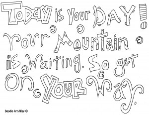 17 quotes coloring pages | Printable and Colors