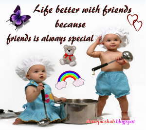 Friends Are Special Beautiful Friendship Greeting Card For Facebook ...