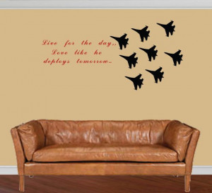 Custom quote Air Force decal Fighter jets by DIYVinylDesigns, $41.00 ...