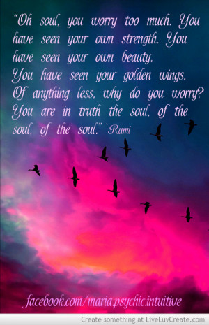 Rumi Quote About The Soul