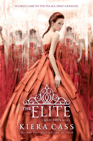 Spotted! Cover of The Elite by Kiera Cass