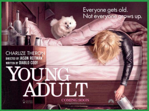 Young Adult will be hitting theaters, Dec. 16th. Here's a peak:
