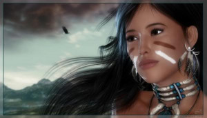 Native American Girl photo NativeAmericanGirl.jpg
