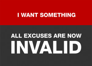 Stop giving excuses start that Venture