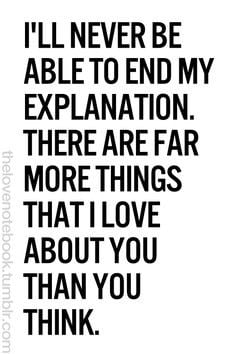 ... you I cant even explain!! I plan to spend the rest of my life trying
