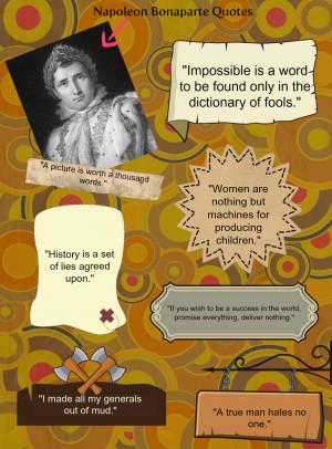 Napoleon Bonaparte Quotes by Nisa Zool Hilmey