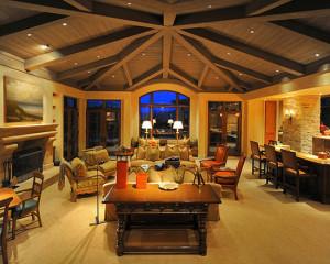 Cozy Fireplace Latter Above...