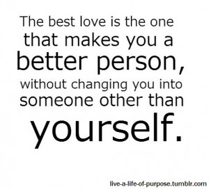 Love Quotes That One Person...