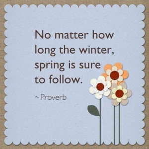 Spring Quotes and Phrases