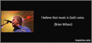 Brian Wilson Quote
