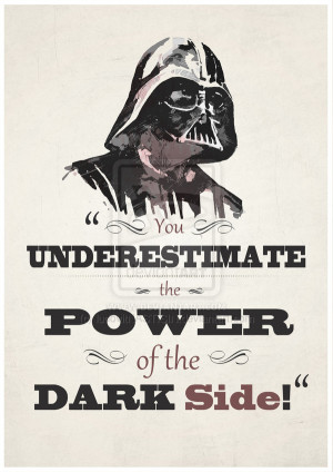 Darth Vader Birthday Quotes Darth vader quote by