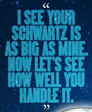 SPACEBALLS Dark Helmet Movie Quote Poster
