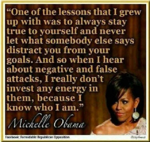 Positive quotes #Michelle Obama