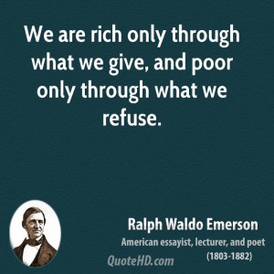 Give To The Poor Quotes