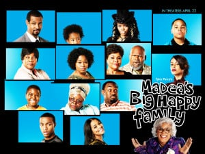 Madea's Big Happy Family Wallpaper