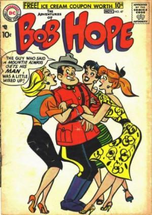 Canadian? I read that Bob Hope was British!
