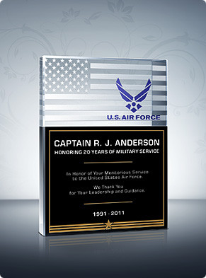 Home > Military Plaques > Air Force Plaques > Air Force Service Plaque