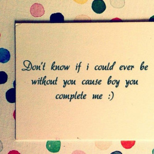 Home » Picture Quotes » Lyrics » Don't know if I could ever be ...