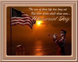 sayings for memorial day