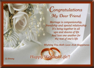 Congratulations Quotes For Someone Getting Married ~ Congratulations ...