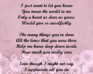 Mother Poem Love Poem for Mom Digit al INSTANT DOWNLOAD - On Sale ...