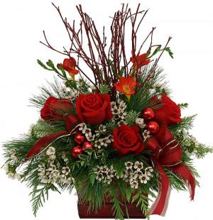 classical christmas floral christmas floral arrangements floral ...