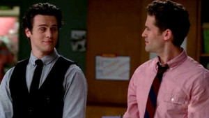 mr schue yes brittany brittany mr schue is he your son