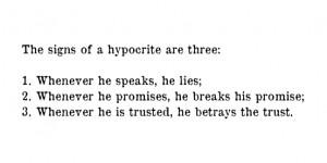 signs of hypocrite sahih bukhari volume 1 book 2 number 33