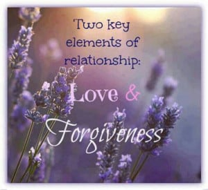 Love and Forgiveness...