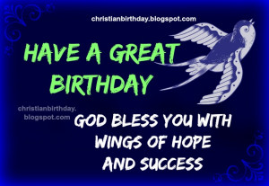 ... birthday, christian quotes for son, daughter, free blessings cards