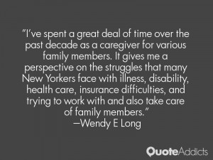 Wendy E Long Quotes