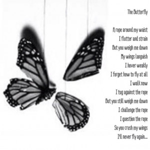 Broken Butterfly quote