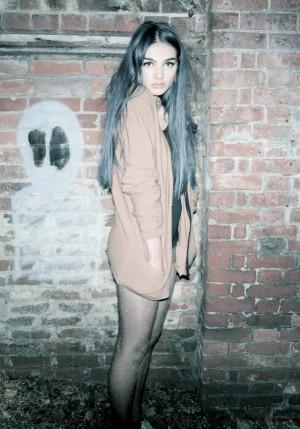 blue hair, ghost, girl, grunge, pale, soft grunge, teen