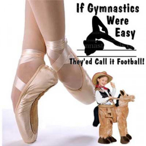 good gymnastics sayings