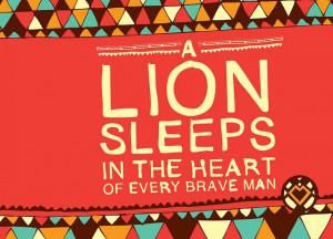 Motivational Quotes & Lions