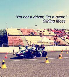 , quote, formula1 , formula student, Bluestreamline, Stirling Moss ...