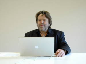 Prof. John Perry Barlow lecturing at European Graduate School. 2006 ...