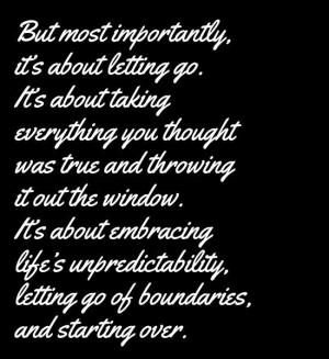 starting over.....