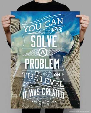 Typographic Quote Posters