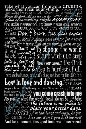 Dave Matthews Band Lyric Quotes