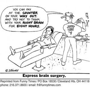 brain surgery funny