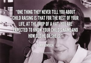 Erma Bombeck Quotes On Family