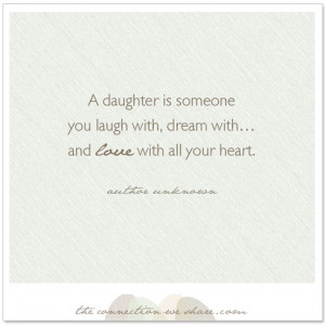 daughter quote Mother And Daughter Bond Quotes