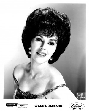 Wanda Jackson Press Kits